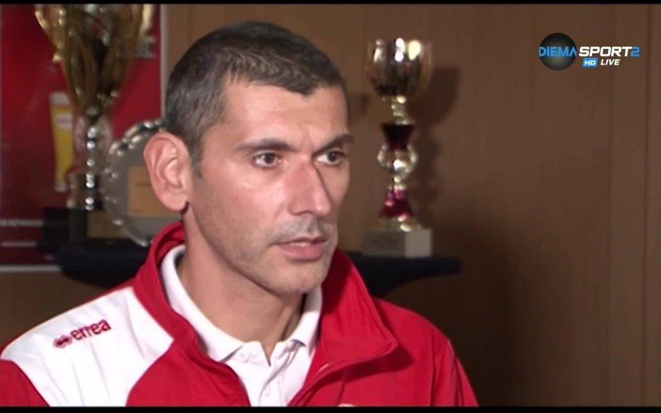 Старши треньорът на волейболния ЦСКА Александър Попов говори за проблемите