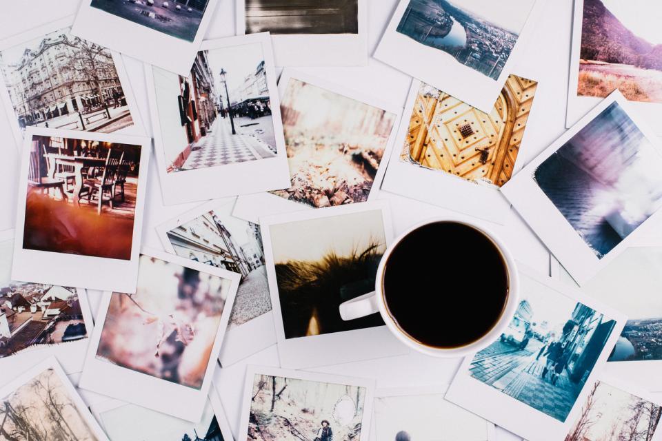 снимки спомени кафе