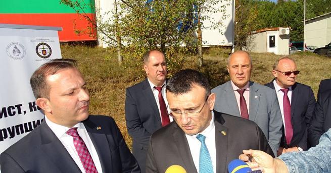 Министърът на вътрешните работи Младен Маринов присъствието на поредния етап