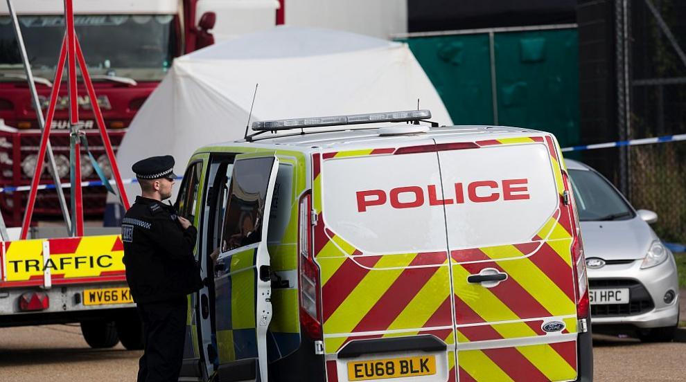 МВнР: Камионът с 39 тела във Великобритания е с българска регистрация