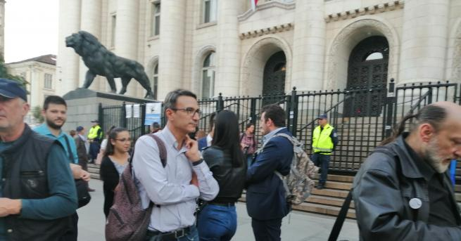 Пореден протест срещу номинирания за главен прокурор Иван Гешев се