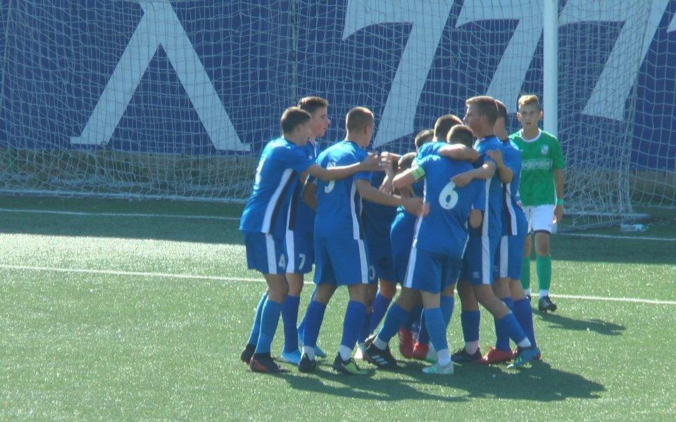 10 от 10 за Левски в Елитната юношеска група до 15 години