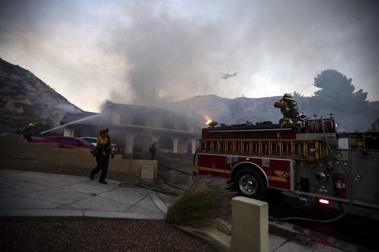 калифорния пожари