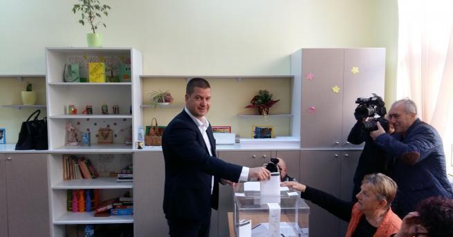 Гласувах да продължи промяната на Стара Загора, за да има