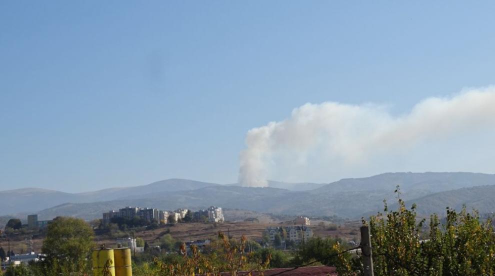 Над 200 декара горят в Рила