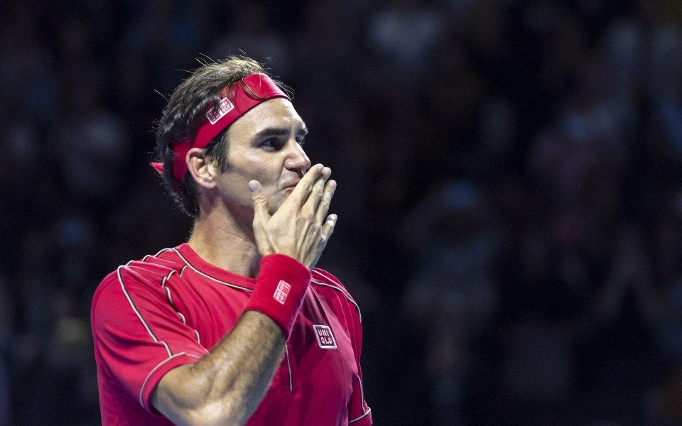 Швейцарският тенисист Роджър Федерер официално отказа участие в последния за
