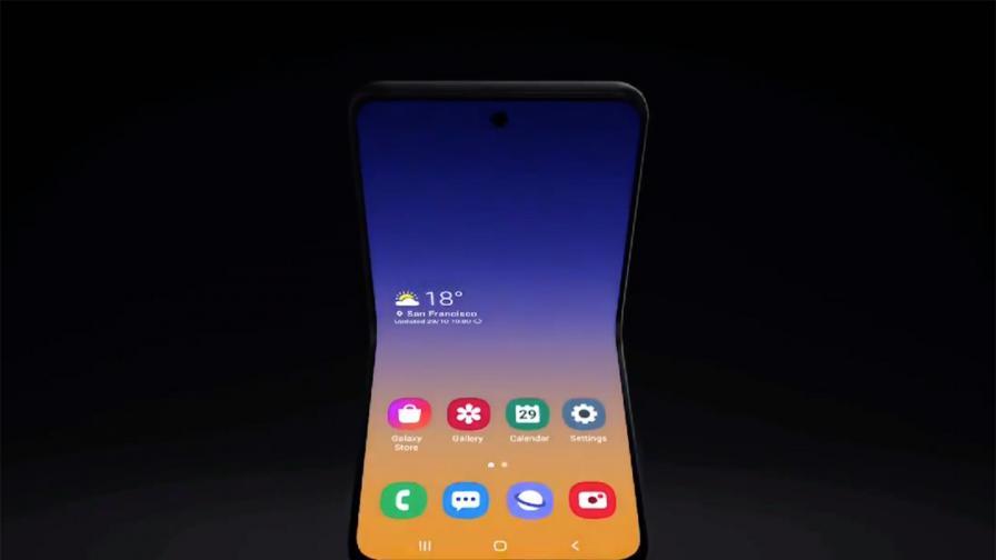 Новият сгъваем смартфон на Samsung