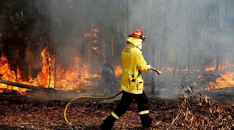 Горските пожари в Австралия отнеха живота на трима души (СНИМКИ/ВИДЕО)