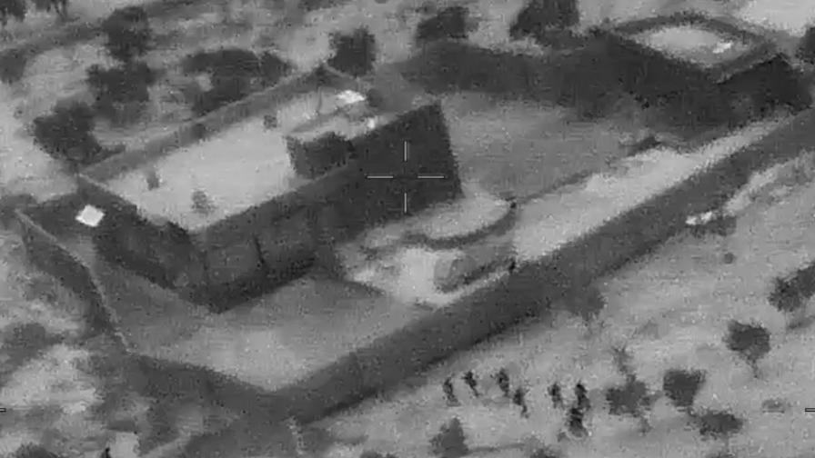 <p>Показаха видео от ликвидирането на Ал Багдади</p>