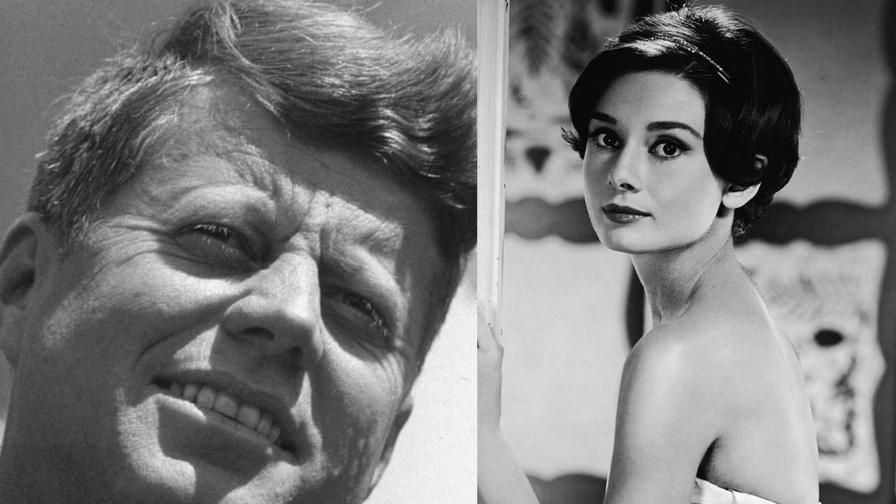 <p><strong>Тайната любов</strong> на Джон Кенеди и Одри Хепбърн</p>