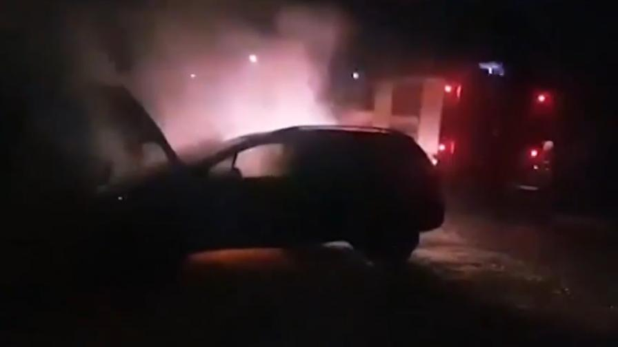 Подпалиха колата на кандидат за кмет от ГЕРБ