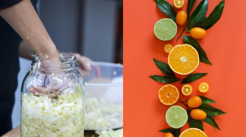 Защо киселото зеле е по-добро от цитрусовите плодове?