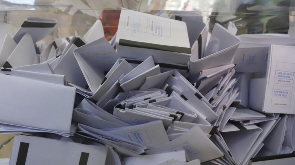 Без повторно ръчно преброяване на бюлетините от вота в София