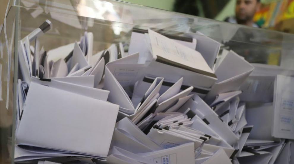 Първи данни за избирателната активност: Очаквано ниска