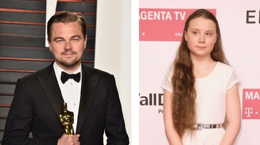 Лео и Грета: Най-обсъжданата среща този уикенд (СНИМКА)