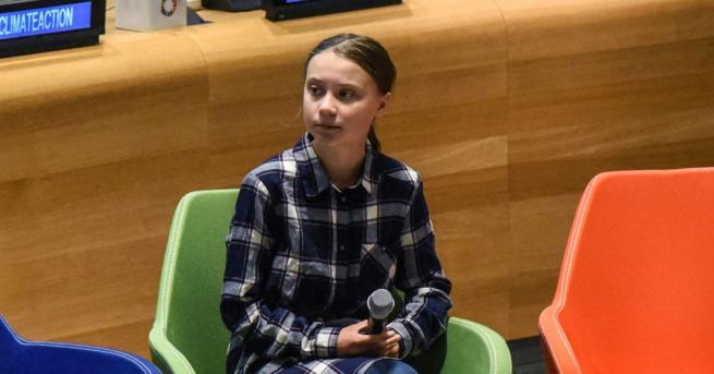 Шведската активистка по въпросите на климата Грета Тунберг отказа преди