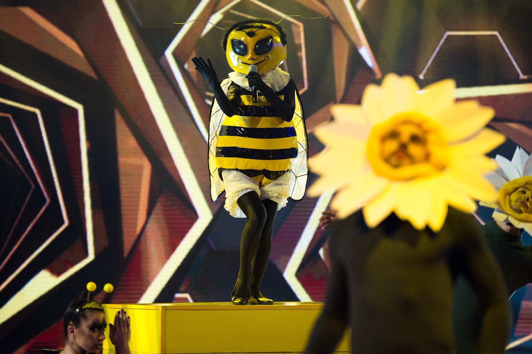 <p>&nbsp;</p>  <p>Пчелата изпълнява &quot;God Is A Woman&quot; на Ariana Grande&nbsp;</p>