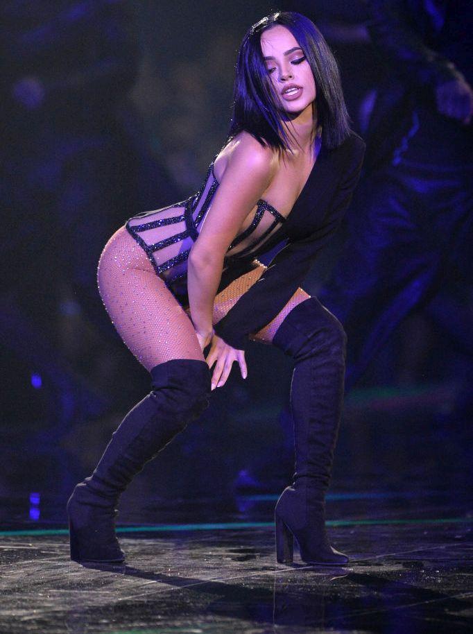 Американската певица, автор на песни и актриса Беки Джи беше една от най-атрактивните звезди на европейските награди на MTV, които се проведоха преди дни.<br>