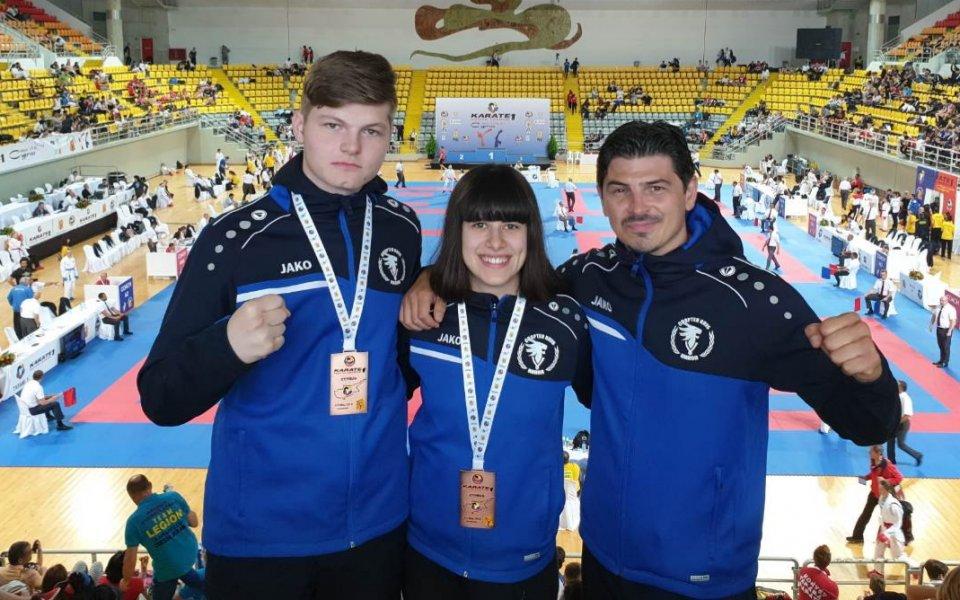 Ивана Каменова е световна вицешампионка по олимпийско карате. Тя е