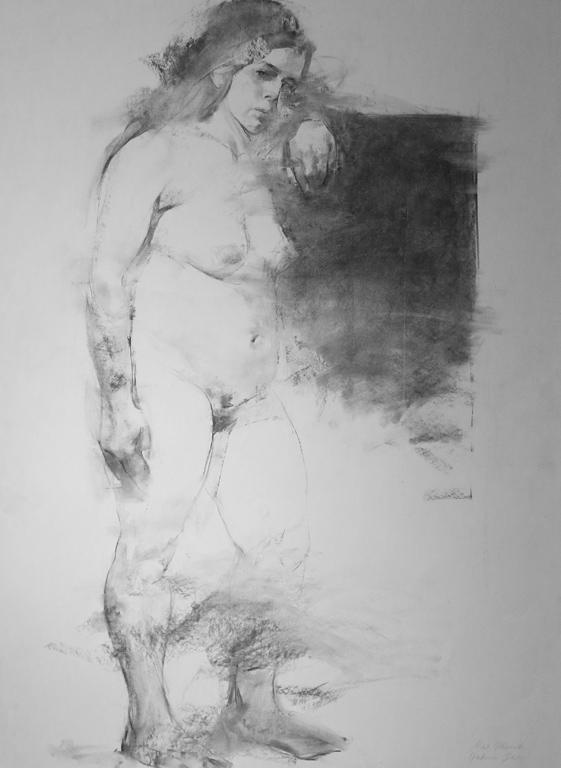 <p>Учебнa рисункa на женска фигура</p>