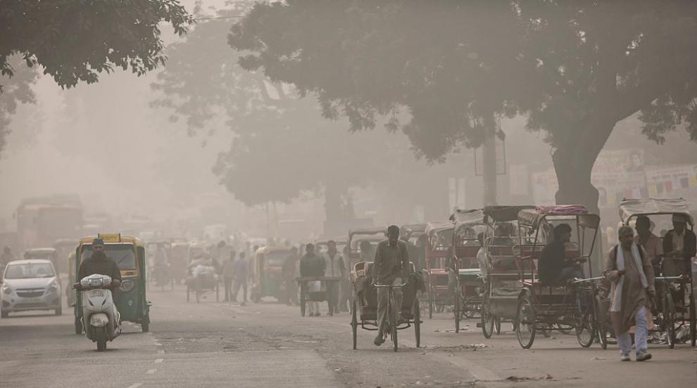 Защо въздухът в Индия е по-мръсен от този в Китай?