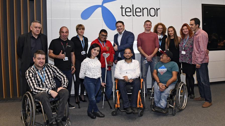 <p>Теленор посреща нови служители по програмата&nbsp;Open Mind</p>