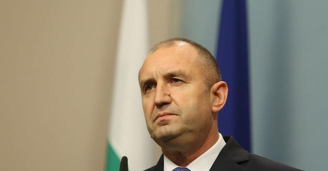 Държавният глава Румен Радев участва в церемонията по случай 100-годишнината