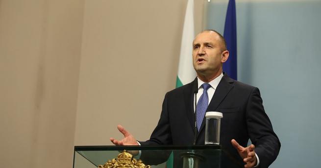 Държавният глава Румен Радев ще бъде на посещение в Света