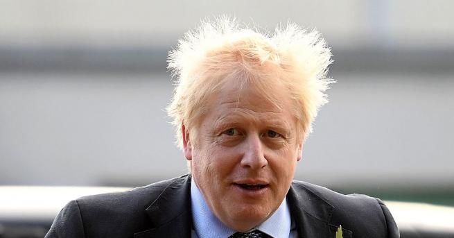 Британският премиер Борис Джонсън обеща да се откаже от алкохола,