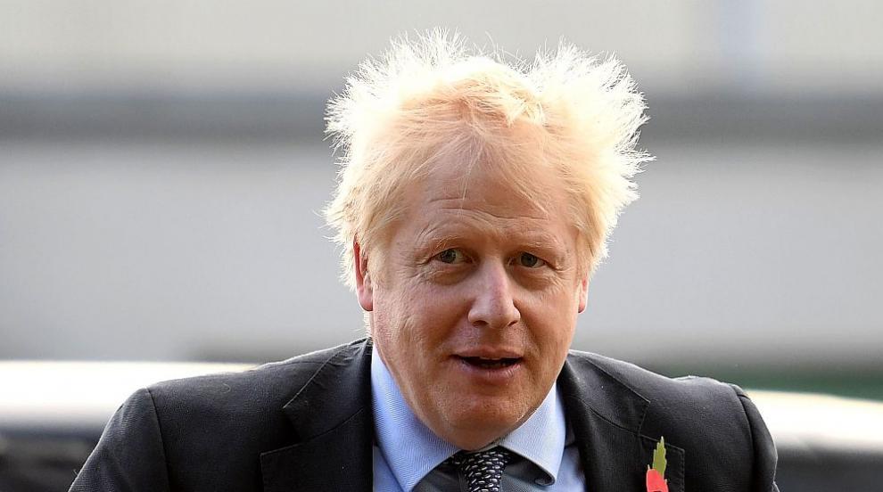 Борис Джонсън е в добро разположение на духа след...