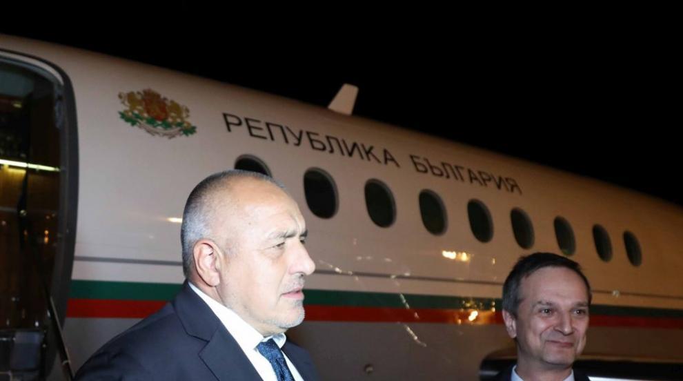 Борисов пристигна в Женева за лидерска среща