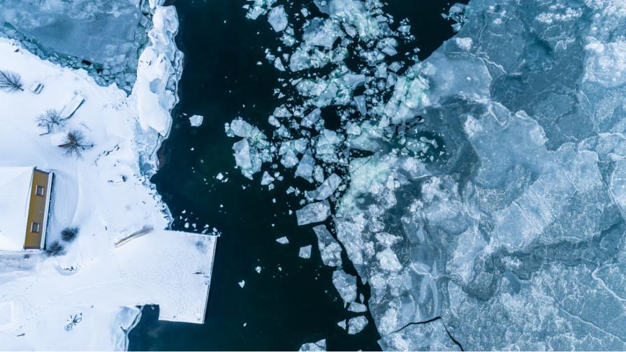 <p>Уникално природно явление: &bdquo;ледени яйца&ldquo; във Финладния</p>
