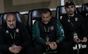 Илиан Василев: Бяхме по-ощетеният тим в мача