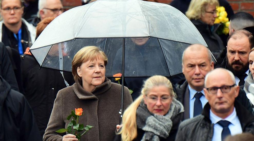 Меркел: Трябва да се борим срещу омразата, расизма и антисемитизма