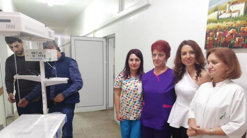 Млада писателка дари апаратура за недоносени бебета на кюстендилската...