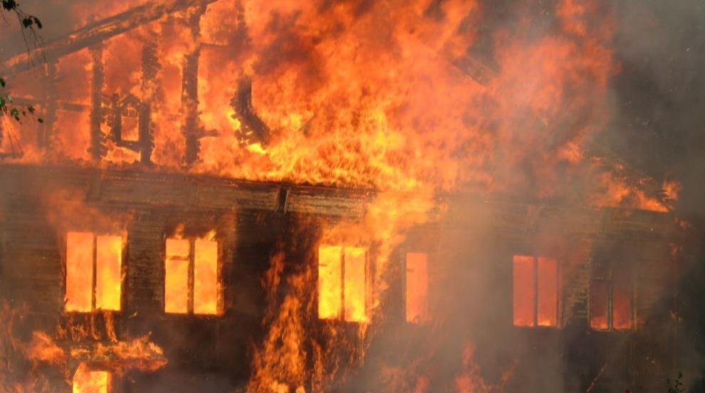 Възрастна жена почина при пожар в Сливен