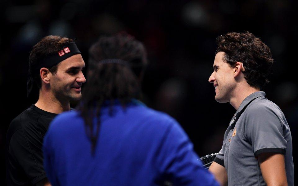 Тийм сподели, че Федерер и Надал все още са гладни за успехи