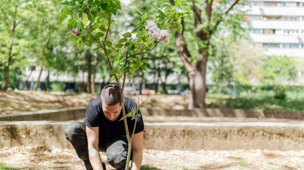 Новата гора на София се разшири с 25 декара