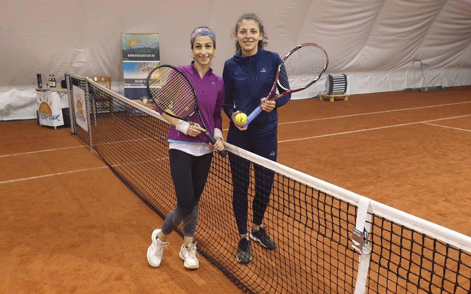 Любен Попов и Илияна Шейтанова взеха купите в последния турнир на УТ за 2019