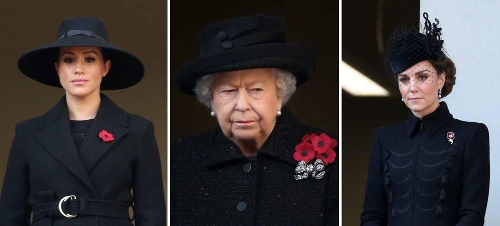 Кралските дами с елегантни шапки