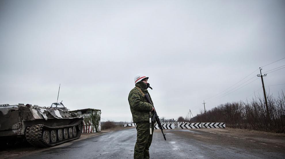 Армията и сепаратистите в Източна Украйна са приключили раздалечаването си
