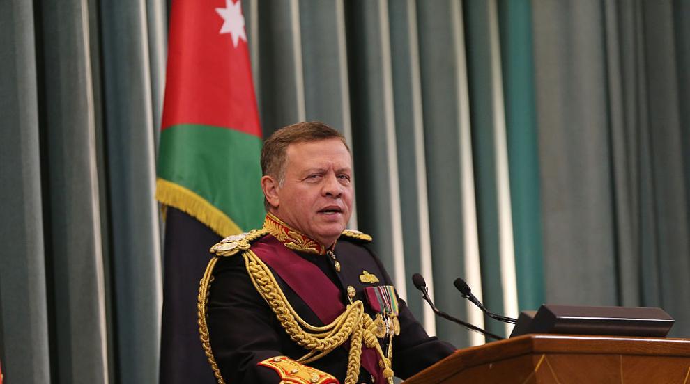 Йорданският крал посети анклав, който страната му си върна след три...
