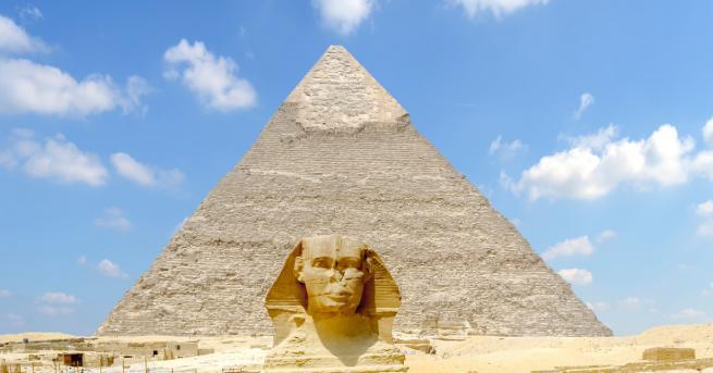 Египетски археолози откриха мумия на необичайно голямо животно, вероятно лъв
