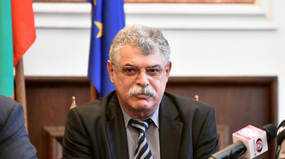 Захариев поема инфраструктурата и строителството в Община Сливен