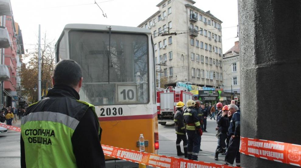 Наказват ватманката на трамвая, блъснал жена в София (ВИДЕО)