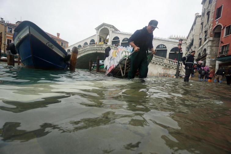 венеция вода наводнение