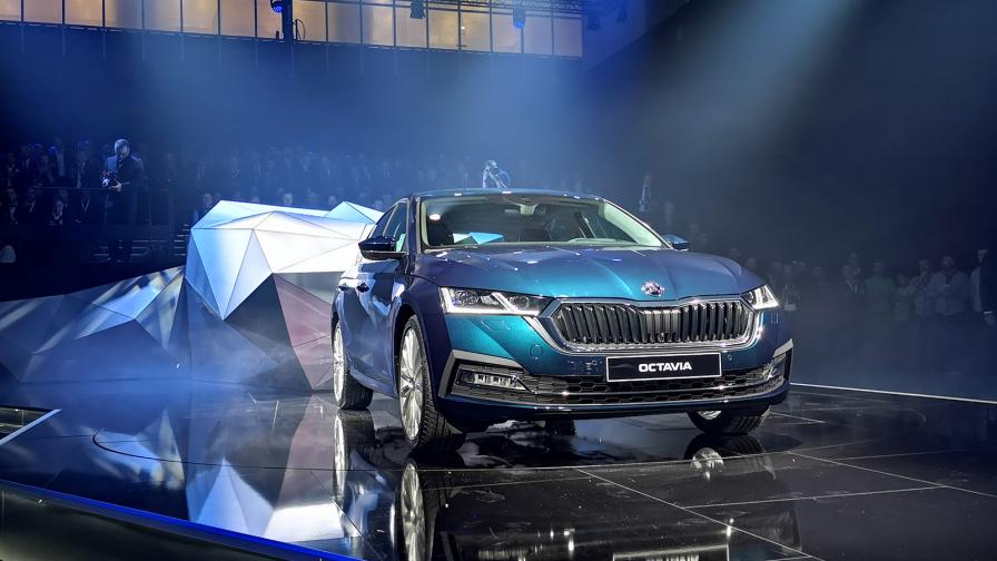 Новата Skoda Octavia може да се конкурира с луксозните марки