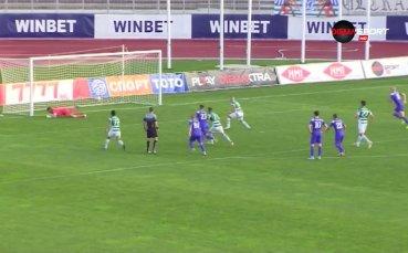 Христо Иванов отново е №1 под рамката в 16-ия кръг в efbet Лига