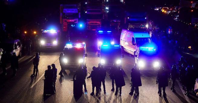 Сепаратистите, застъпващи се за независимостта на Каталуния, отново блокираха пътищата,