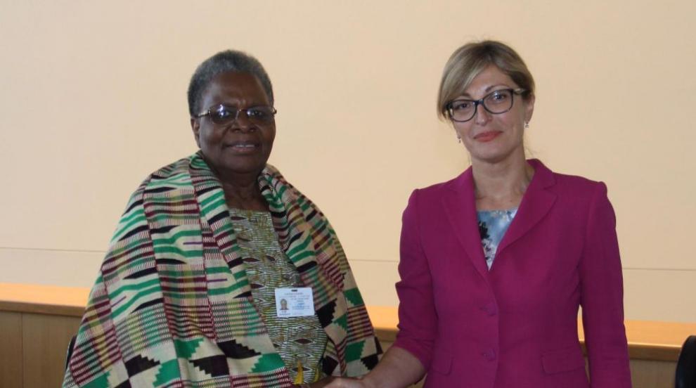 Започна официалното посещение на Захариева в Намибия (СНИМКИ)